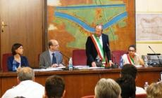 Cavarzere. il sindaco ha giurato <br/> insediato il consiglio comunale