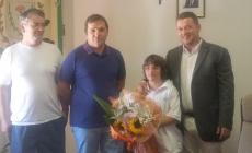 Il sindaco di Canaro si congratula con Sara Zanca