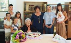 Nonna Alceste, 105 volte auguri