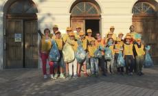 Villanova del Ghebbo,  volontari all'opera contro i rifiuti