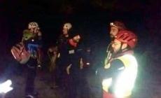 Bloccati sulla parete, escursionisti salvati dal Soccorso alpino