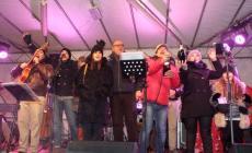 In centinaia al Capodanno in piazza Vittorio