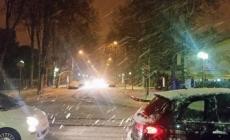 La prima neve della stagione: Adria e il Delta imbiancati