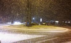 Strade sicure e scuole aperte in Polesine nonostante la nevicata