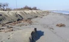 La spiaggia rischia di scomparire