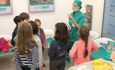 Open day bimbi alla Caredent: adesso il dentista non fa più paura