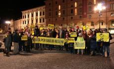 In piazza Vittorio, una fiaccolata per Giulio Regeni