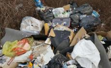 Discarica di rifiuti in area Interporto