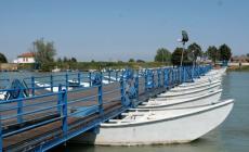 Il maltempo ha rallentato i lavori, ponte chiuso fino al 30 marzo