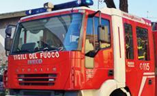 Fuga di gas in Commenda, pompieri al lavoro