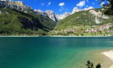 Molveno, il primo della classe fra i laghi del Trentino