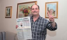 """Il premio torna a Rovigo. E Mauro promette: """"Un regalo per mia figlia"""""""