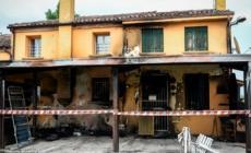 A fuoco la casa preparata per i profughi
