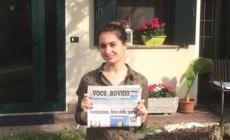 Chiara inizia a leggere La Voce e vince 150 euro