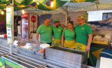 Festival dello shopping e cibo di strada