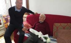 Nonno Primo ha spento 102 candeline