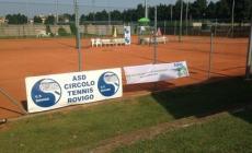 Inizia il primo torneo singolare di tennis outdoor