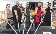 Il centro di Rovigo invaso dai supereroi