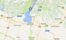 Scossa di terremoto sul lago di Garda