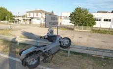 Schianto auto scooter, interviene l'elisoccorso
