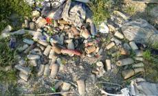 Vergognosa discarica a cielo aperto a Santa Maria in Punta