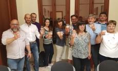 La squadra di governo di Pigaiani