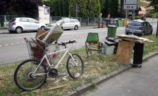 Troppi rifiuti abbandonati in città: arrivano multe salate