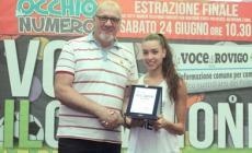 """Vota il campione, Alessia Maurelli: """"Fiera del premio ricevuto""""."""