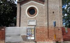 Chiesa sacrario di San Rocco, i lavori sono al termine