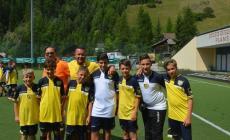 Divertimento in montagna per i giovani giallorossi