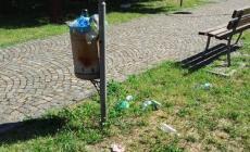 Giardini Zen ad Adria tra i rifiuti e le cacche di cane