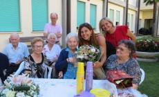 Jolanda nonna da record: sono 107
