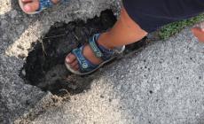Ad Adria l'asfalto cede sotto i piedi