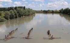L'acqua salata invade i fiumi in secca