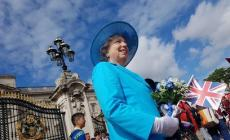 Una regina polesana a Buckingham Palace