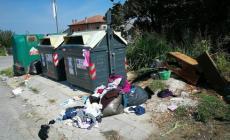 Rifiuti abbadonati a Rottanova, isola ecologica nel degrado