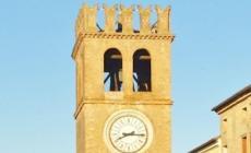 Torre civica in attesa del recupero