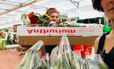 Una rosa in regalo per i dipendenti di Tezenis, Lidl, Eurospin e Despar