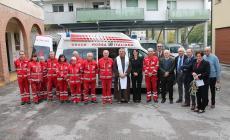 Una nuova ambulanza per la Croce rossa di Rovigo