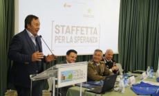 Ultramaratona: la staffetta per la speranza fa tappa in Polesine