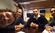 Barbierato e i consiglieri comunali Casellato, Bonato e Cavallari a Venezia per le schede ospedaliere
