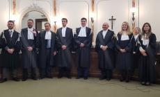 Sei nuovi magistrati prestano giuramento