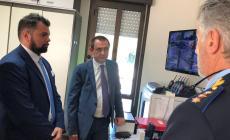 Il vicepresidente della Camera Rosato in visita a Polesella loda il sistema di videosorveglianza