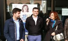 L'onorevoleErik Pretto a sostegno dei giovani della Lega e di Monica Gambardella