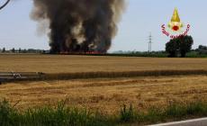 Estate rovente: decine di incendi lungo la linea ferroviaria