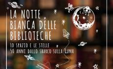 """""""La Notte Bianca delle Biblioteche"""", quest'anno, sceglie la luna"""