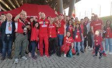 Al Mugello per festeggiare i meravigliosi bolidi rossi