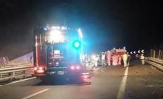 Tre morti nell'orribile incidente in autostrada alle porte di Rovigo