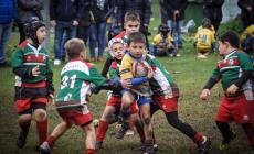 Rugby e fango, connubio perfetto per i baby galletti gialloblù