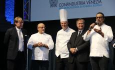 Lo chef Borghese e gli industriali raccolgono 120mila euro per Venezia